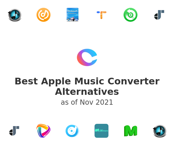 Best Apple Music Converter Alternatives