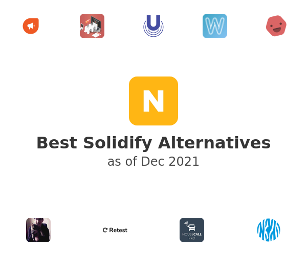 Best Solidify Alternatives