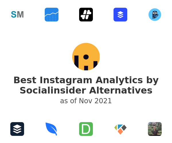 Best Instagram Analytics by Socialinsider Alternatives