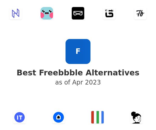 Best Freebbble Alternatives
