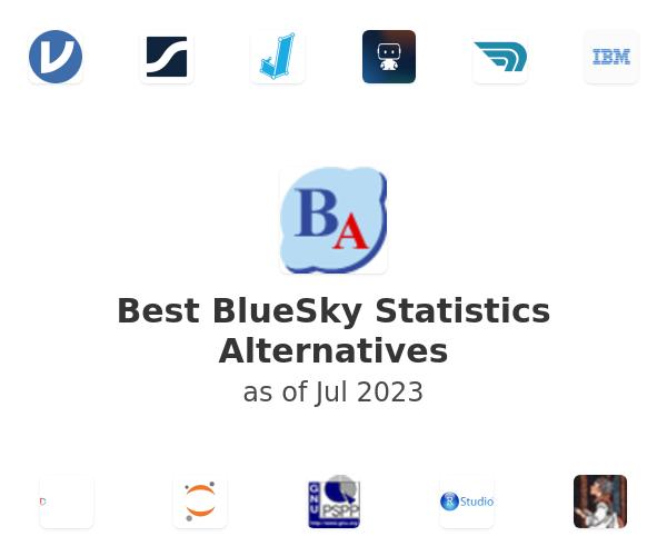 Best BlueSky Statistics Alternatives