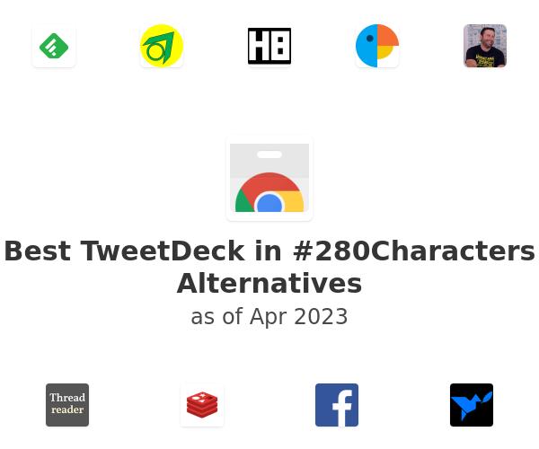 Best TweetDeck in #280Characters Alternatives