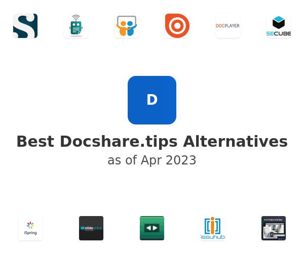 Best Docshare.tips Alternatives