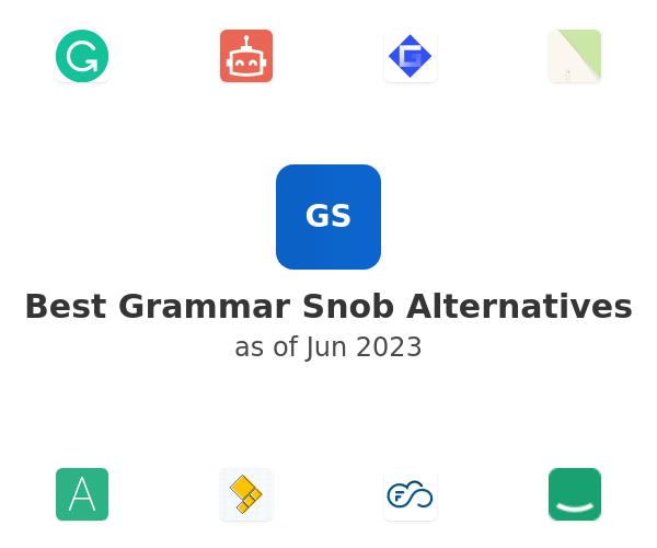 Best Grammar Snob Alternatives