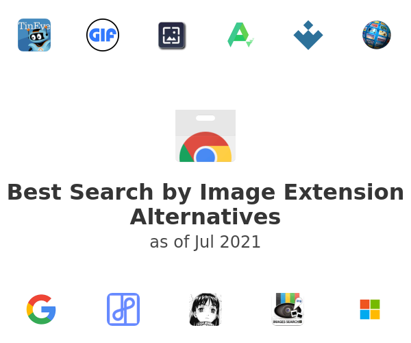 Best Search by Image Extension Alternatives