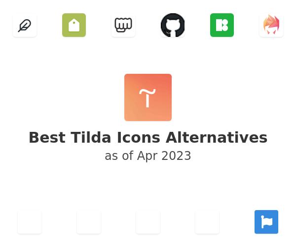 Best Tilda Icons Alternatives