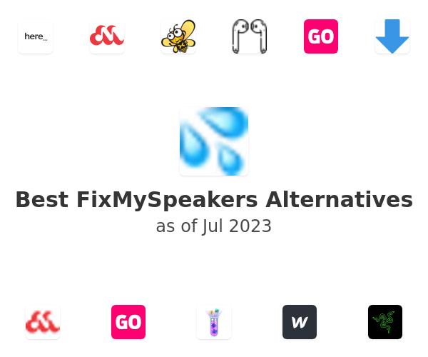 Best FixMySpeakers Alternatives