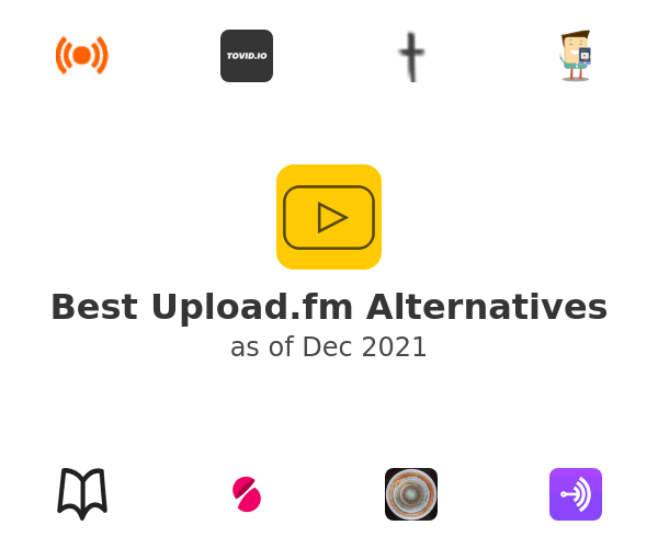 Best Upload.fm Alternatives