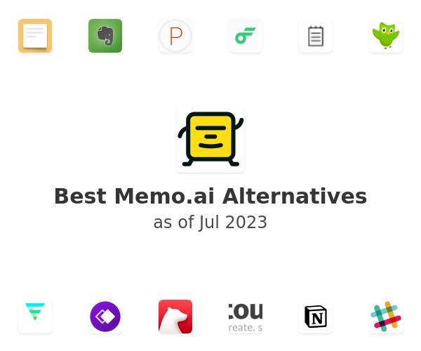 Best Memo Alternatives