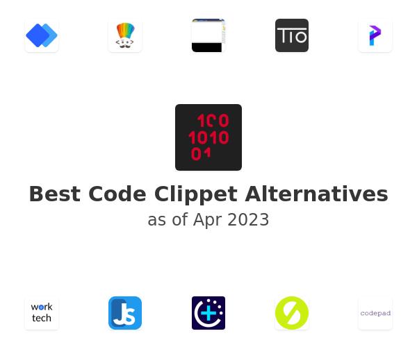 Best Code Clippet Alternatives
