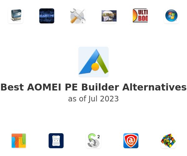 Best AOMEI PE Builder Alternatives