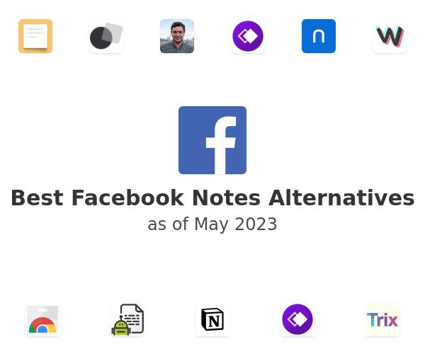 Best Facebook Notes Alternatives