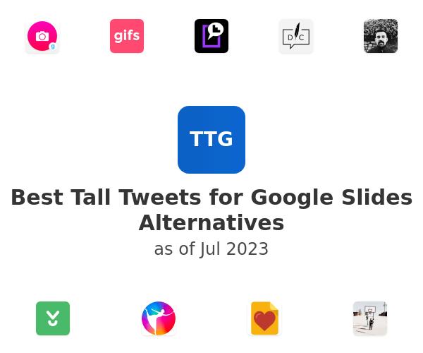 Best Tall Tweets for Google Slides Alternatives