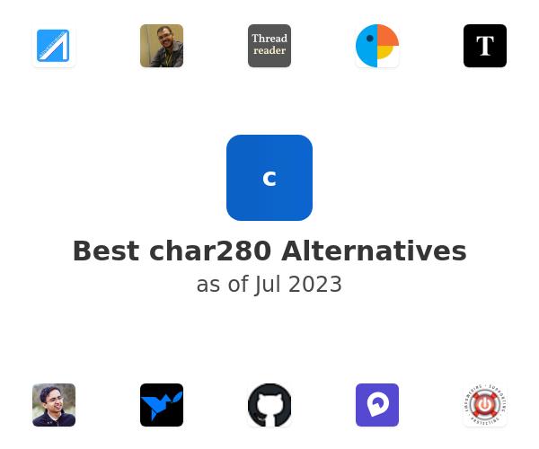 Best char280 Alternatives