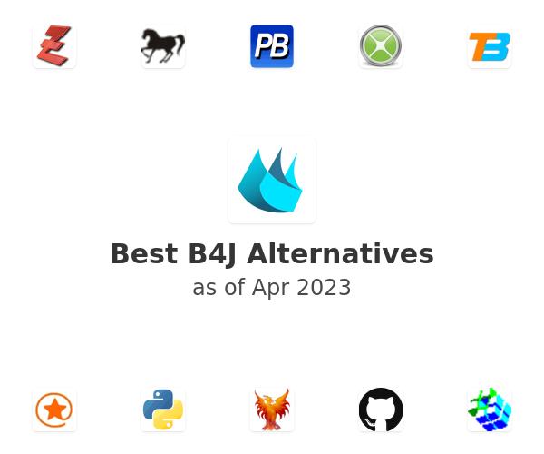 Best B4J Alternatives