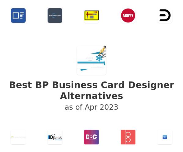 Best BP Business Card Designer Alternatives