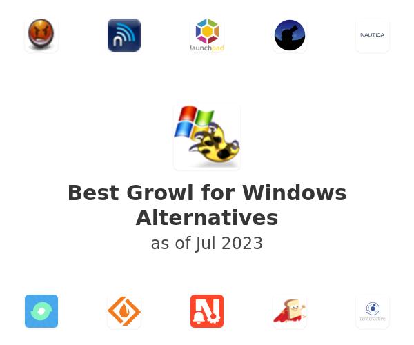Best Growl for Windows Alternatives