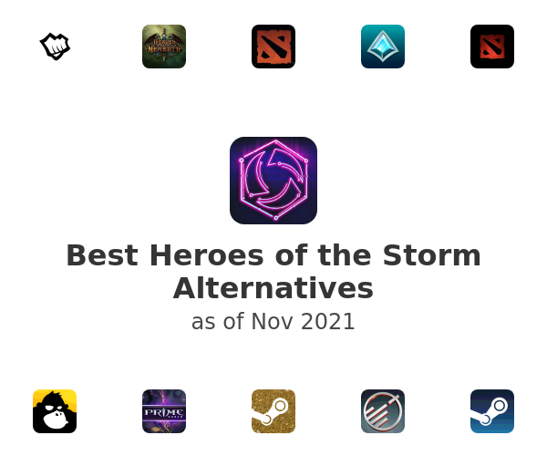 Best Heroes of the Storm Alternatives