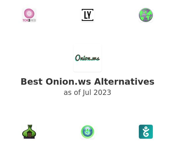 Best Onion.ws Alternatives