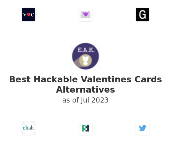 Best Hackable Valentines Cards Alternatives
