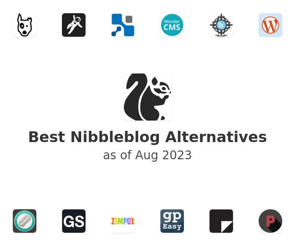 Best Nibbleblog Alternatives