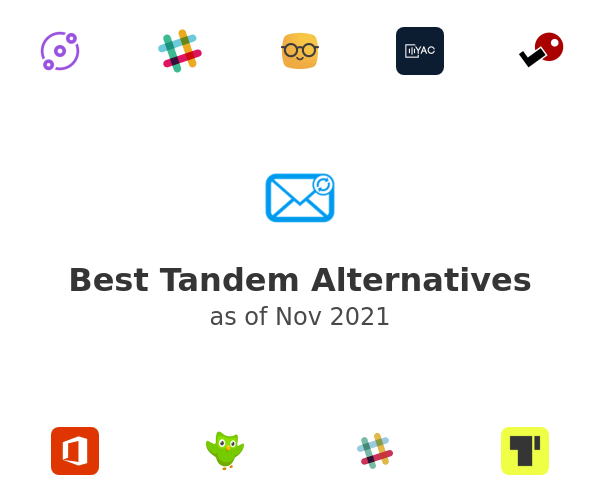 Best Tandem Alternatives