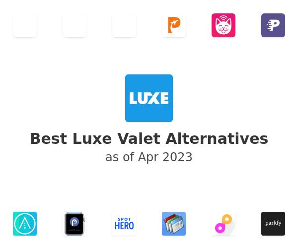 Best Luxe Valet Alternatives
