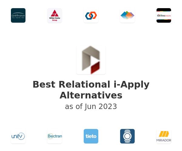 Best Relational i-Apply Alternatives