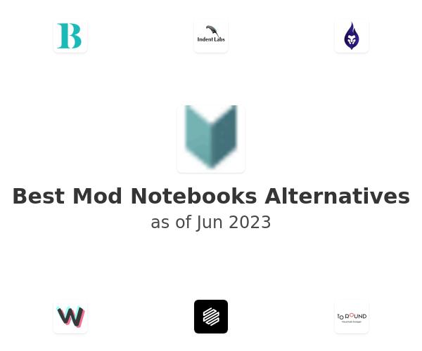 Best Mod Notebooks Alternatives