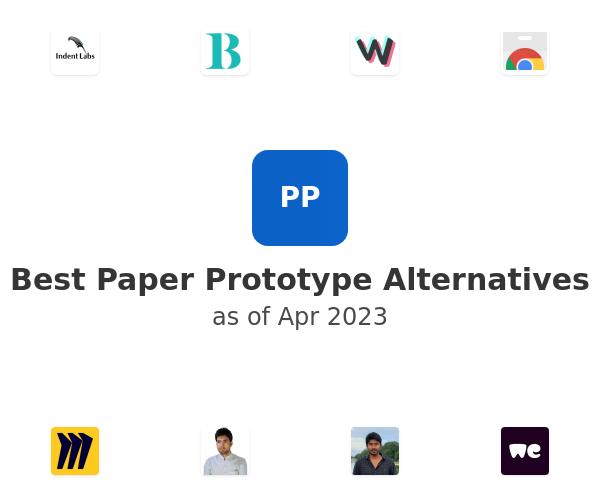 Best Paper Prototype Alternatives