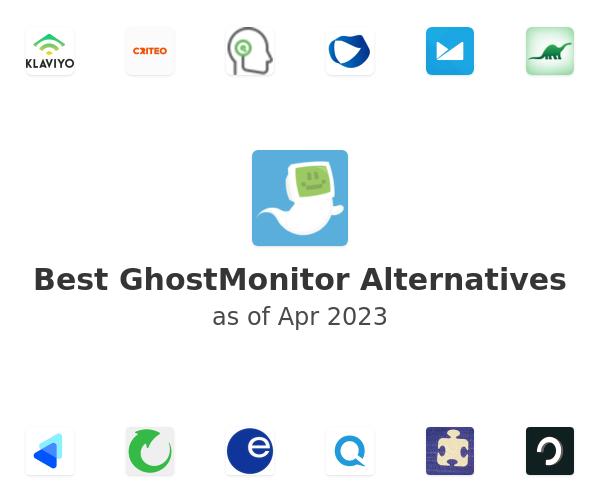 Best GhostMonitor Alternatives