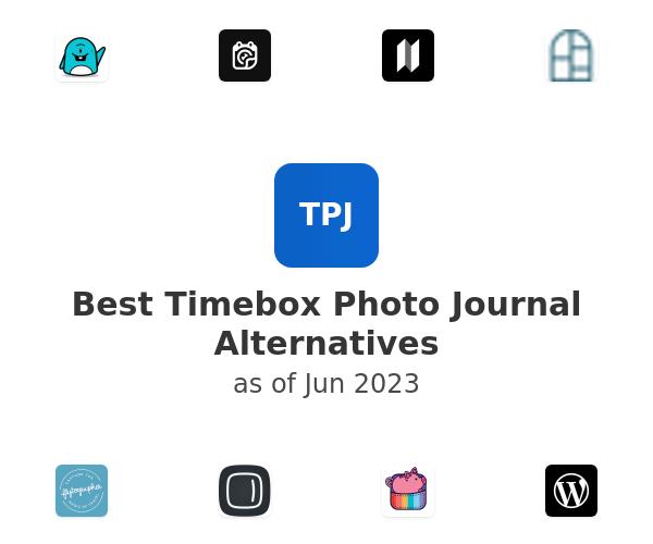 Best Timebox Photo Journal Alternatives