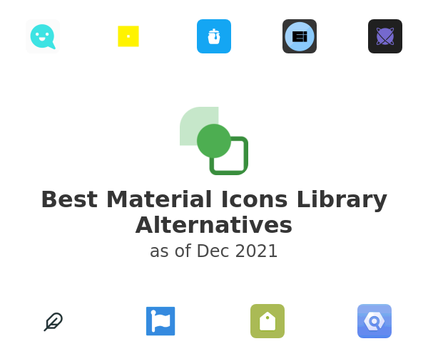 Best Material Icons Library Alternatives