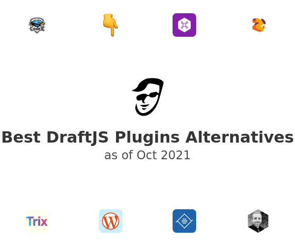 Best DraftJS Plugins Alternatives