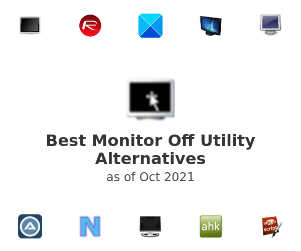 Best Monitor Off Utility Alternatives