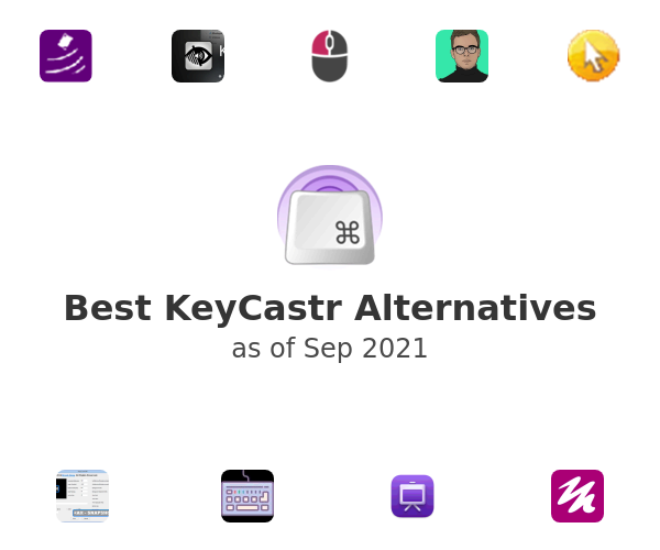 Best KeyCastr Alternatives