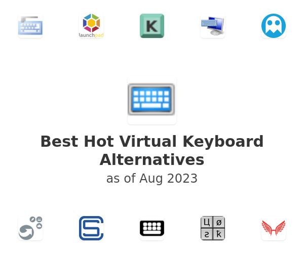 Best Hot Virtual Keyboard Alternatives
