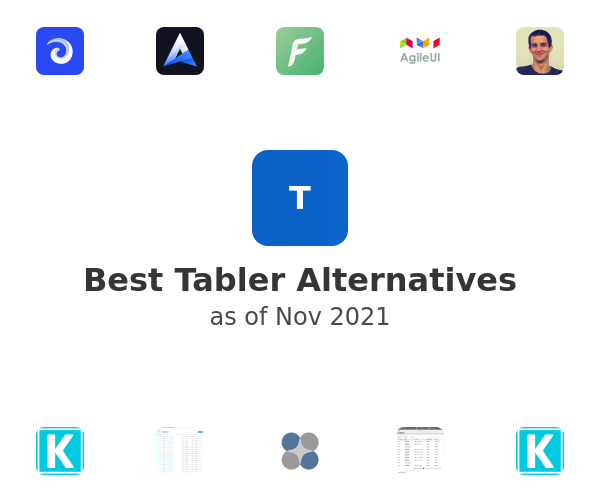Best Tabler Alternatives