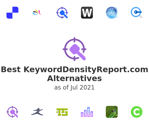 Best KeywordDensityReport.com Alternatives
