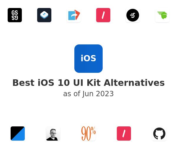 Best iOS 10 UI Kit Alternatives