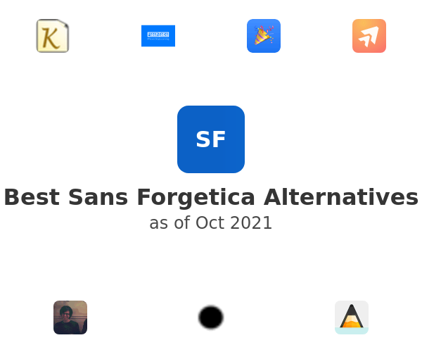 Best Sans Forgetica Alternatives