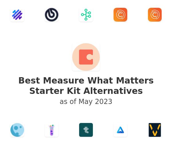 Best Measure What Matters Starter Kit Alternatives