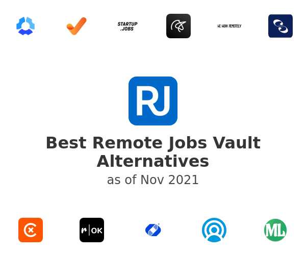 Best Remote Jobs Vault Alternatives