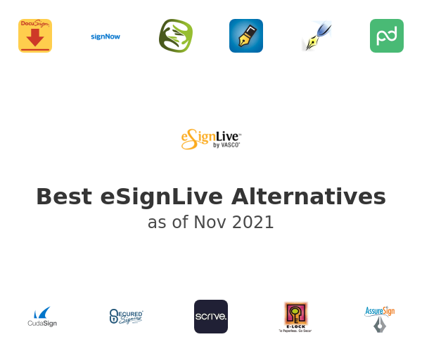Best eSignLive Alternatives