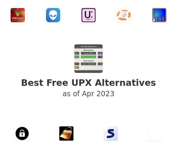 Best Free UPX Alternatives