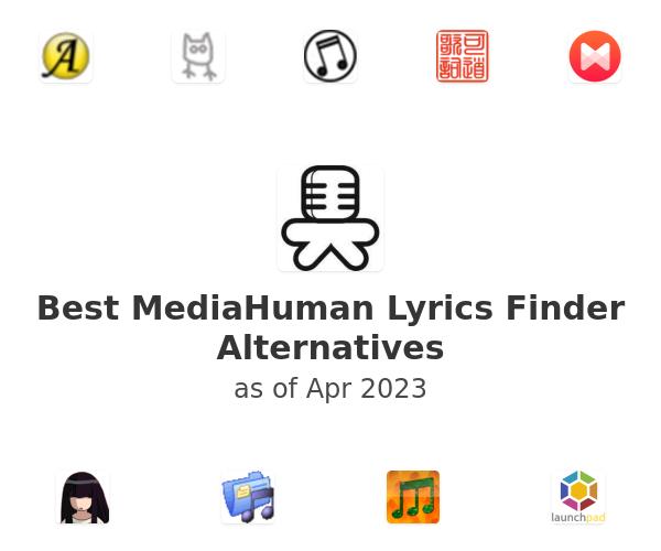 Best MediaHuman Lyrics Finder Alternatives