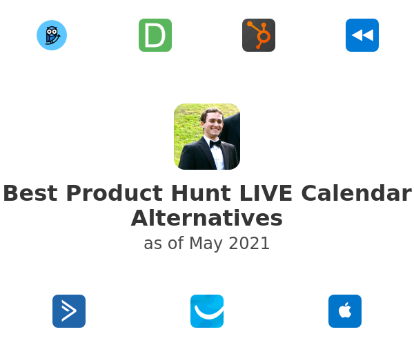 Best Product Hunt LIVE Calendar Alternatives