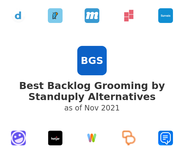 Best Backlog Grooming by Standuply Alternatives