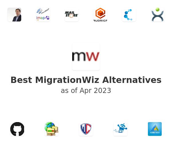 Best MigrationWiz Alternatives