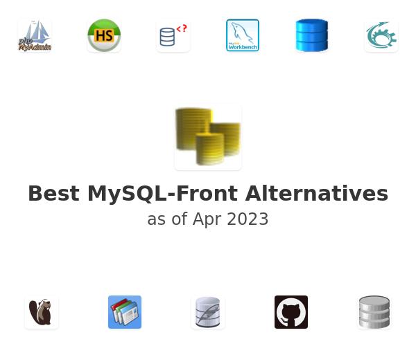 Best MySQL-Front Alternatives